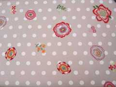 broderie traditionnelle, nappe rico